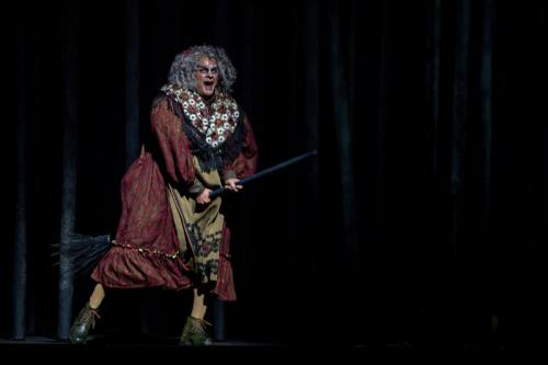 Robert Clark as the Witch