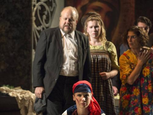 Stárek in Jenůfa for Pacific Opera Victoria (with Lara Ciekiewicz)
