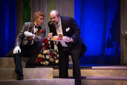 Don Magnifico with Michael Nyby (Dandini)