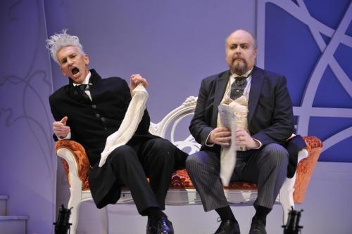 As Bartolo with Jamie Offenbach (Basilio)