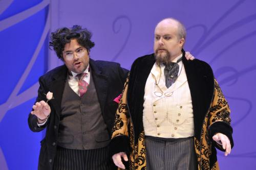 As Bartolo with Antonio Figueroa (Almaviva)