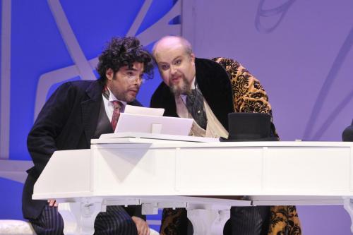As Bartolo with Antonio Figueroa (Almaviva)