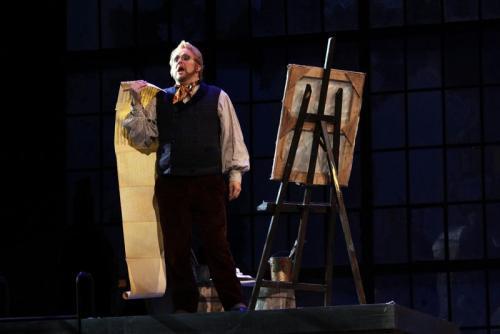 Schaunard in La Boheme with Opera Lyra Ottawa