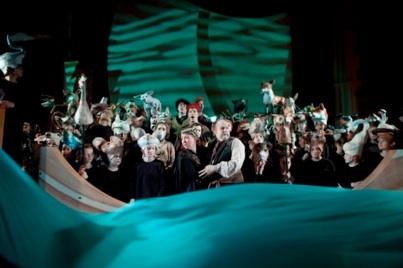 The titular role in Britten's Noye's Fludde for Pacific Opera Victoria