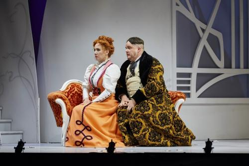 As Bartolo with Andrea Hill (Rosina)