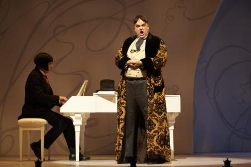As Bartolo with John Tessier (Almaviva)