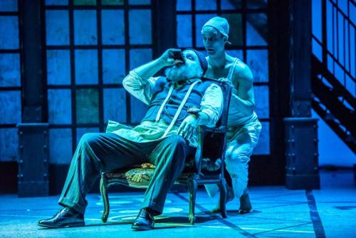 As Petrovich the Tailor with Courteney Stevens (ensemble)
