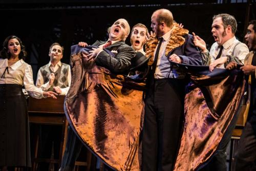 Head of Dept in The Overcoat for Canadian Stage & Tapestry Opera